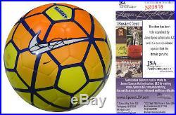 Steven Gerrard Signed Nike Premier League Soccer Ball Jsa Coa Liverpool