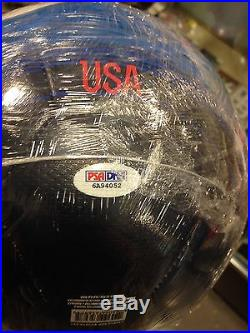 Sydney Leroux USA soccer Ball Signed