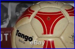 Tango Adidas Rosario Signed Maradona (red And White)