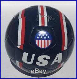 Team USA Soccer #10 CARLI LLOYD Signed Autographed USA Soccer Ball COA! GOLD