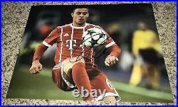 Thiago Alcantara Signed 8x10 Photo Bayern Munich Proof