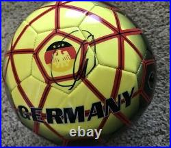 Thomas Muller Signed Germany Soccer Ball With Exact Proof