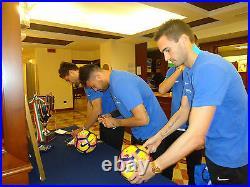 UEFA Atalanta Pallone Ball Signed Calciatori MR Gasperini Serie A TIM 16/17