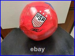 USA Nike Soccer Ball Signed by Megan Rapinoe (JSA)