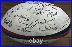 USA Rugby Jersey and Ball Signed by Team