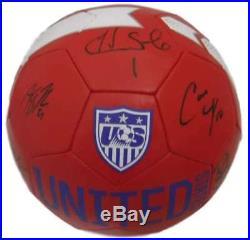 22794381ef6 USA Womens Soccer Autographed Nike Soccer Ball Lloyd Solo +7 JSA 14012