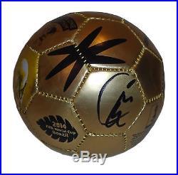 USMNT Kyle Beckerman Signed Autographed 2014 FIFA World Cup Soccer Ball PSA DNA