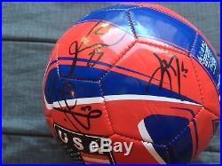 USMNT Team Signed USA Soccer Ball 2016 Copa America Pulisic Dempsey 19 Total