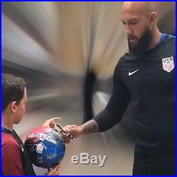 USMNT USA Team Signed Soccer Ball Autographed Howard Pulisic Dempsey