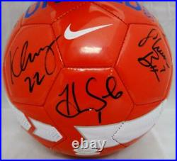 US Women's Autographed F/S Team USA Nike Soccer Ball with 9 Signatures- JSA W Auth