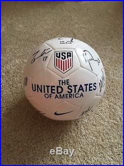 Uswnt signed World Cup 2015 NWSL Alex morgan Ali Krieger Tobin Heath Ball