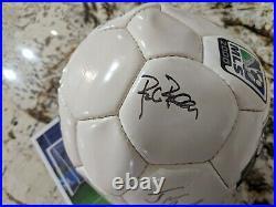 Very Rare Chicago Fire 2000 Hristo Stoichkov MLS Signed Autograph Soccer Ball