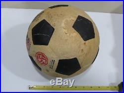 Vintage Pele Signed BRINE Soccer Ball