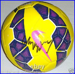 WAYNE ROONEY MANCHESTER UNITED MANU SIGNED AUTOGRAPHED NIKE SOCCER BALL WithPROOF