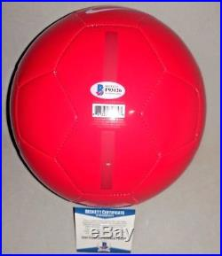 WAYNE ROONEY signed autographed ENGLAND NIKE SOCCER BALL BECKETT COA (BAS)