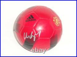 Wayne Rooney Signed Adidas Manchester United Soccer Ball World Cup Proof Jsa Coa