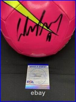 Wayne Rooney Signed Autograph Size 5 Soccer Ball Nike PSA COA