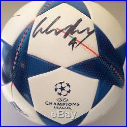 Wayne Rooney Signed Soccer Ball Champions League Autographed PSA/DNA COA Man U