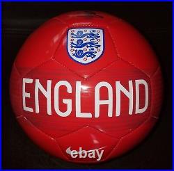 Wayne Rooney'manchester United' DC United Signed England Ball Coa 2 Proof