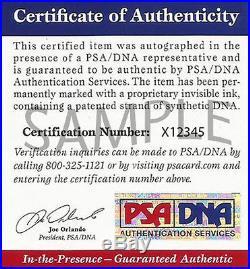 Xavi Hernandez Autographed Spain Soccer Ball PSA/DNA COA