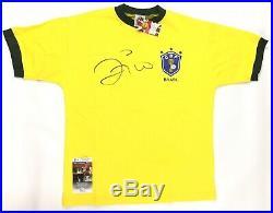 Zico Signed Brazil 1982 World Cup Jersey Futbol JSA Coa