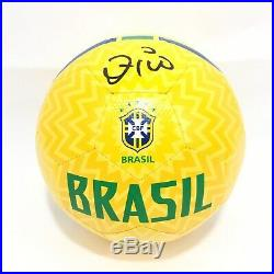 Zico Signed Brazil Soccer Ball Futbol JSA Coa World Cup Flamengo