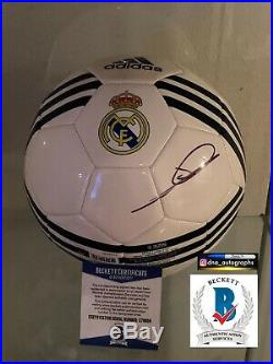 Zinedine Zidane Signed Ball Real Madrid Signed Ball Bas Coa 1