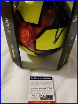Zlatan Ibrahimovic Signed Autographed Adidas Soccer Ball Size 5 Psa Dna Coa