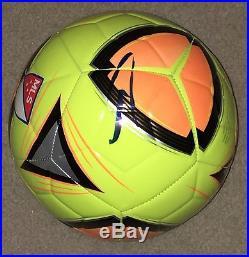 Zlatan Ibrahimovic Signed MLS Soccer Ball JSA COA Legend Futbol Manchester
