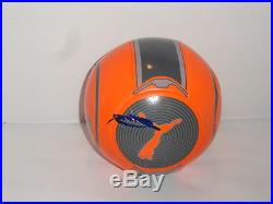 Zlatan Ibrahimovic Signed Puma Soccer Ball Manchester United Futbol Jsa Coa