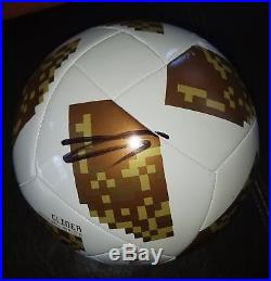 Zlatan Ibrahimovic'la Galaxy' Saint Germain Signed World Cup Soccer Ball Coa